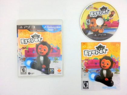 EyePet game for Sony Playstation 3 PS3 -Complete