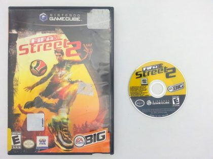 FIFA Street 2 game for Nintendo Gamecube -Game & Case