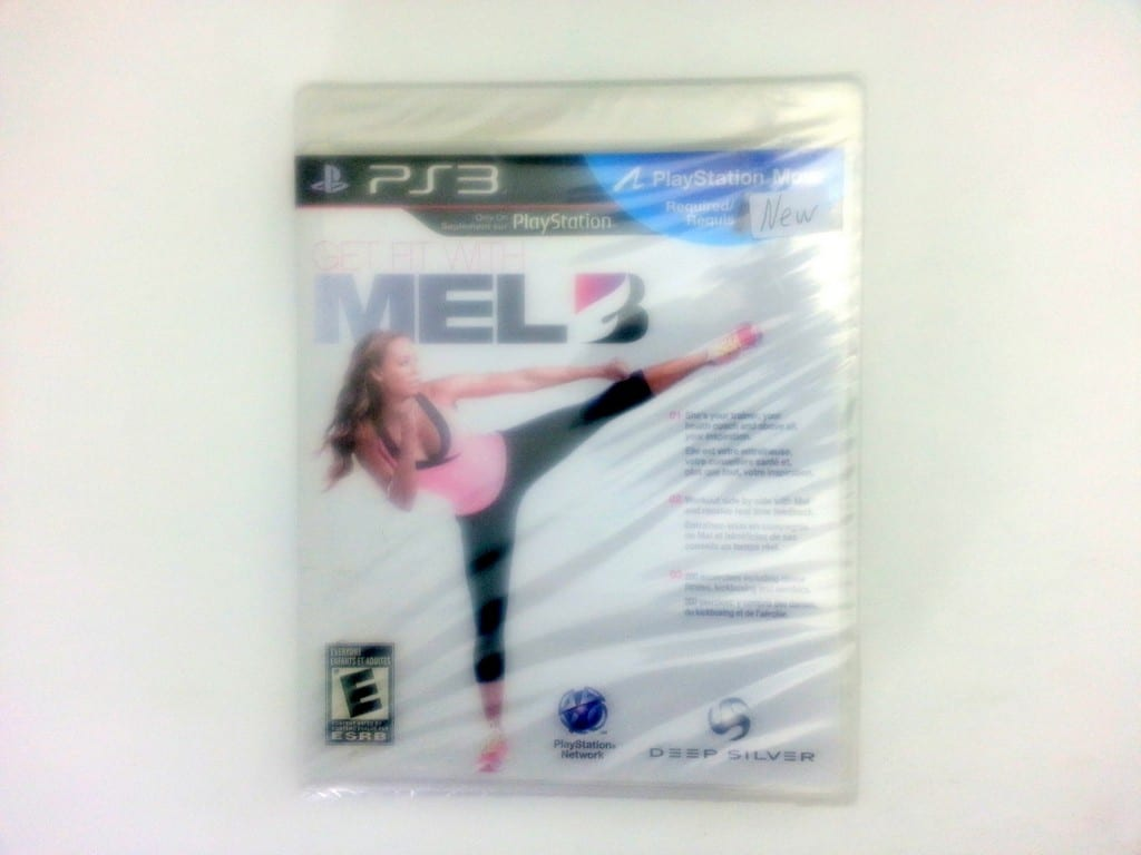 Get Fit With Mel B game for Sony Playstation 3 PS3 - New