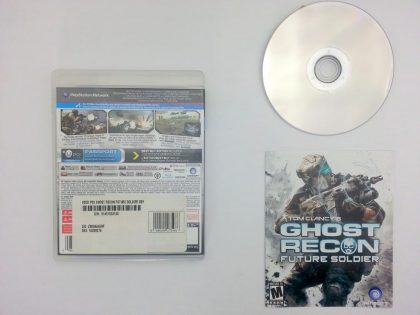 Ghost Recon: Future Soldier game for Playstation 3 (Complete) | The Game Guy