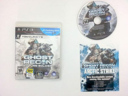 Ghost Recon: Future Soldier game for Sony Playstation 3 PS3 -Complete