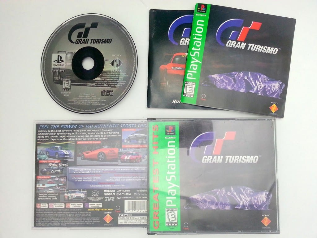 Gran Turismo game for Sony Playstation PS1 PSX -Complete