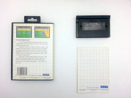Great Basketball game for Sega Master System (Complete) | The Game Guy
