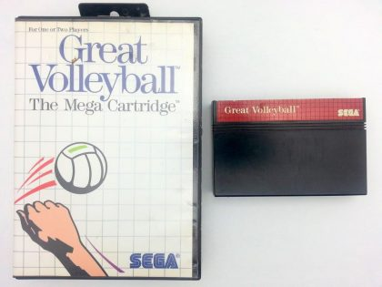 Great Volleyball game for Sega Master System -Game & Case