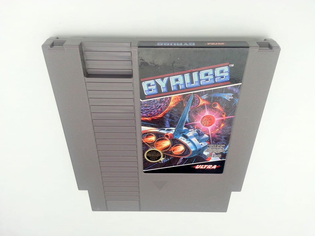 Gyruss game for Nintendo NES - Loose
