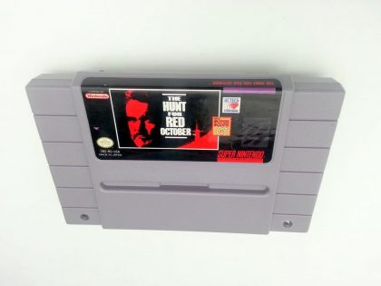 Hunt for Red October game for Super Nintendo SNES - Loose