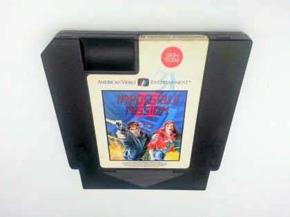Impossible Mission II game for Nintendo NES - Loose