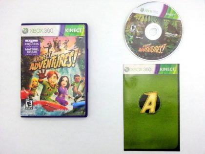 Kinect Adventures game for Microsoft Xbox 360 -Complete