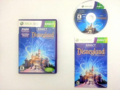 Kinect Disneyland game for Microsoft Xbox 360 -Complete