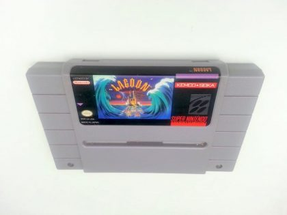 Lagoon game for Super Nintendo SNES - Loose