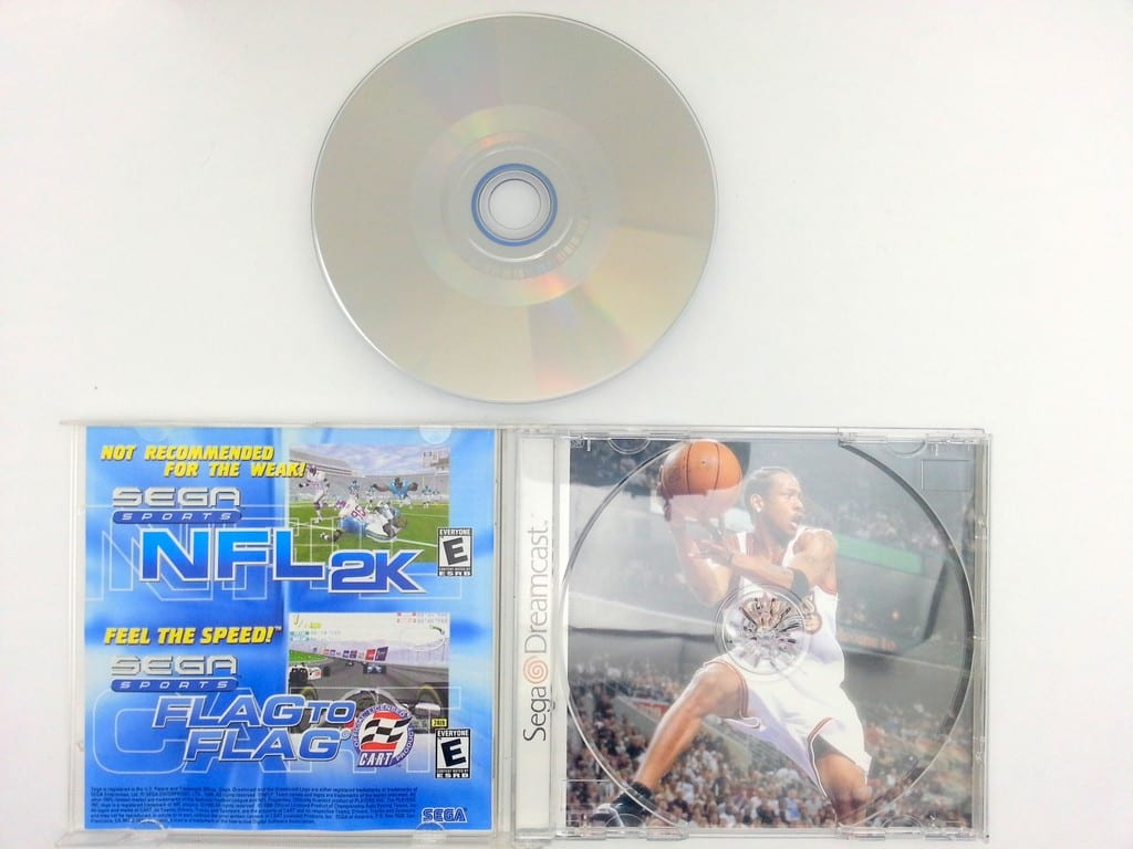 NBA 2K game for Sega Dreamcast (Complete) | The Game Guy