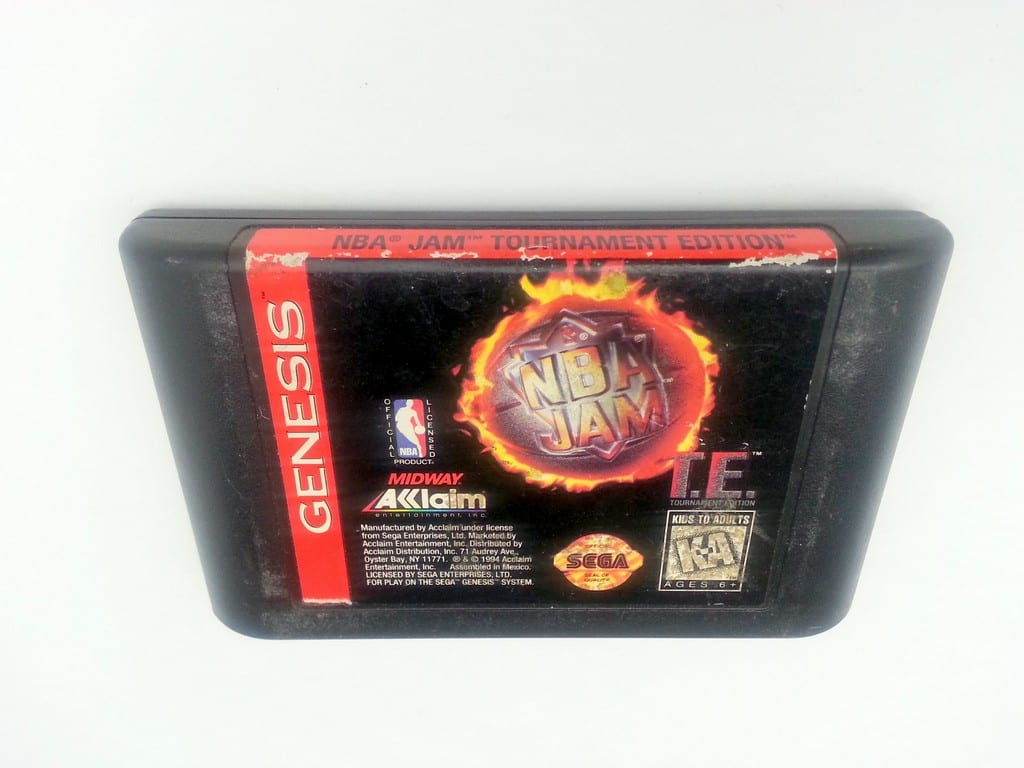 Nba Jam Tournament Edition Game For Sega Genesis Loose
