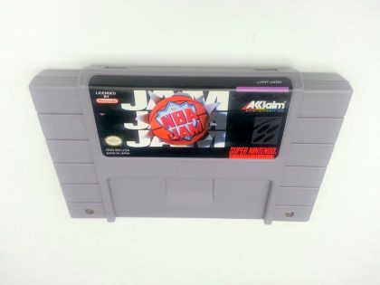 NBA Jam game for Super Nintendo SNES - Loose