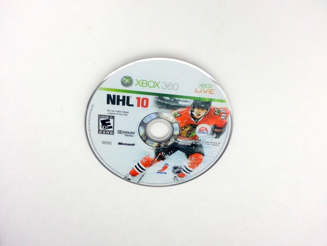 NHL 10 game for Microsoft Xbox 360 - Loose