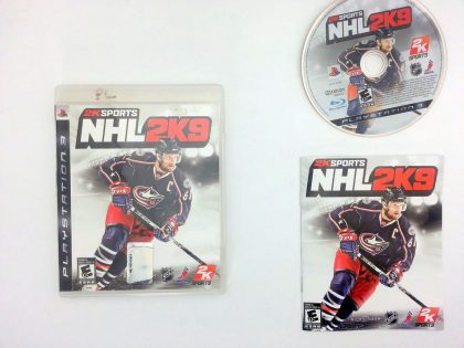 NHL 2K9 game for Sony Playstation 3 PS3 -Complete