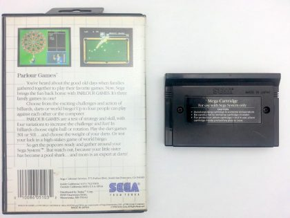 Parlour Games game for Sega Master System | The Game Guy