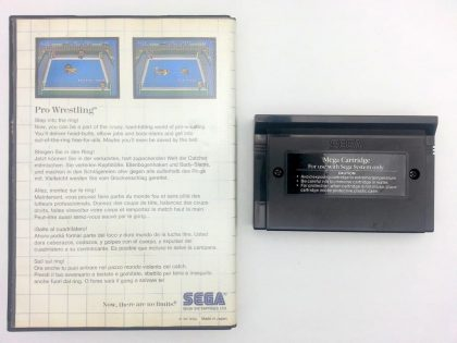 Pro Wrestling game for Sega Master System | The Game Guy
