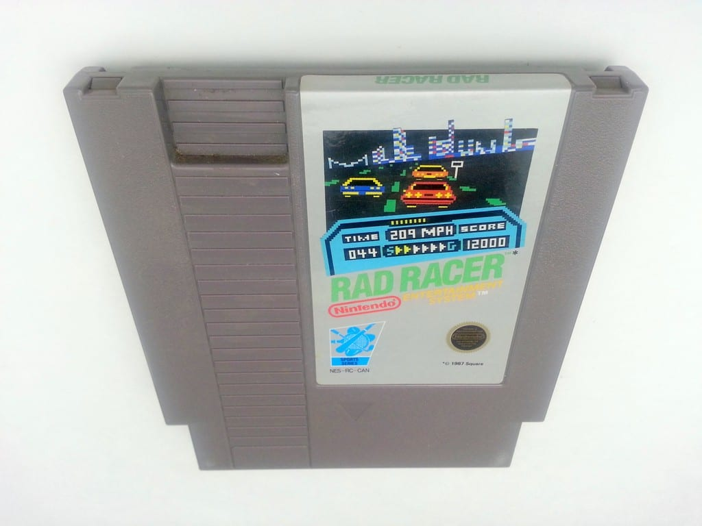 Rad Racer game for Nintendo NES - Loose