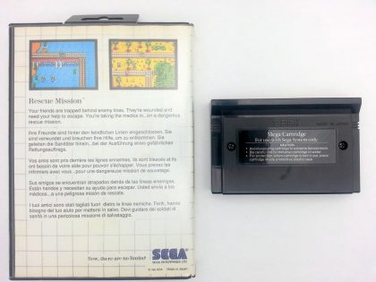 Rescue Mission game for Sega Master System | The Game Guy