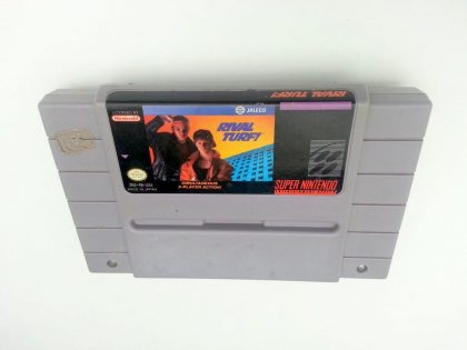 Rival Turf game for Super Nintendo SNES - Loose