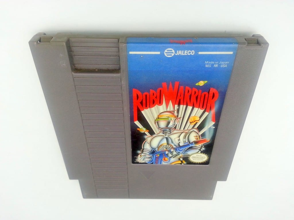 Robo Warrior game for Nintendo NES - Loose