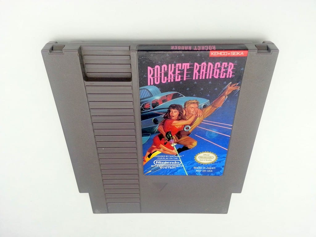 Rocket Ranger game for Nintendo NES - Loose