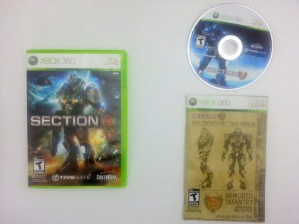 Section 8 game for Microsoft Xbox 360 -Complete