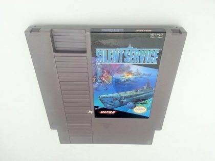 Silent Service game for Nintendo NES - Loose