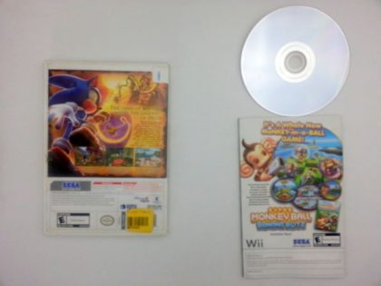 Sonic and the Secret Rings game for Wii (Complete)   The Game Guy