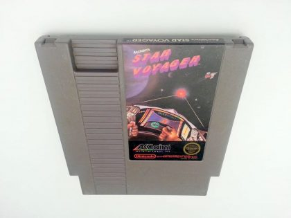 Star Voyager game for Nintendo NES - Loose