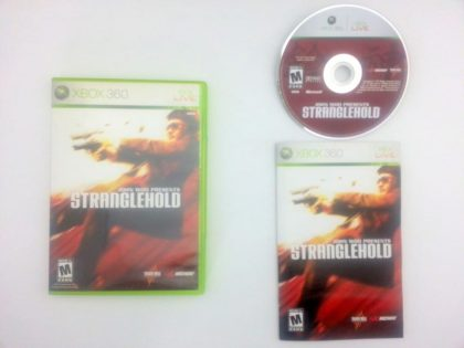 Stranglehold game for Microsoft Xbox 360 -Complete