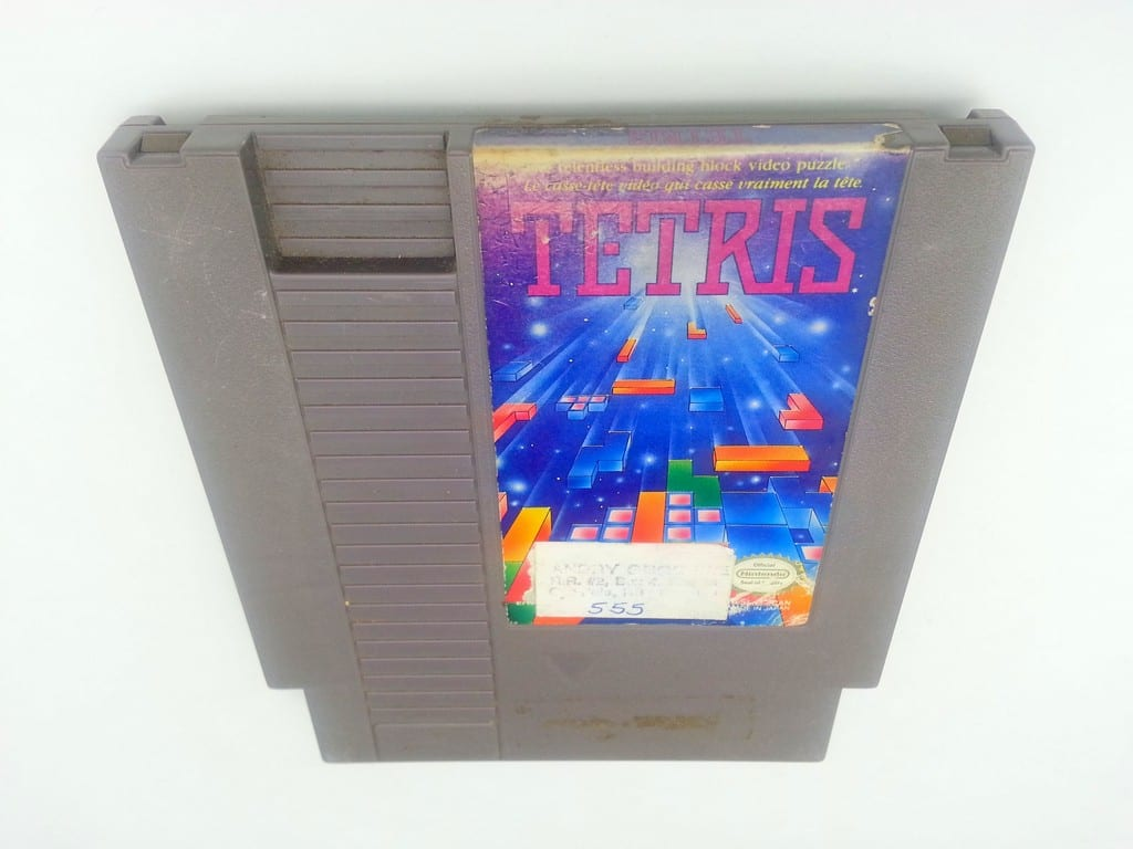 Tetris game for Nintendo NES - Loose