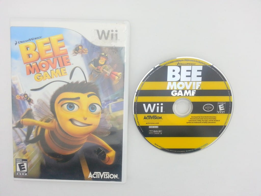 the bee movie game game for nintendo wii game amp case