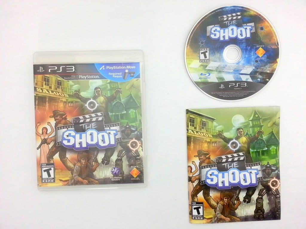 The Shoot game for Sony Playstation 3 PS3 -Complete