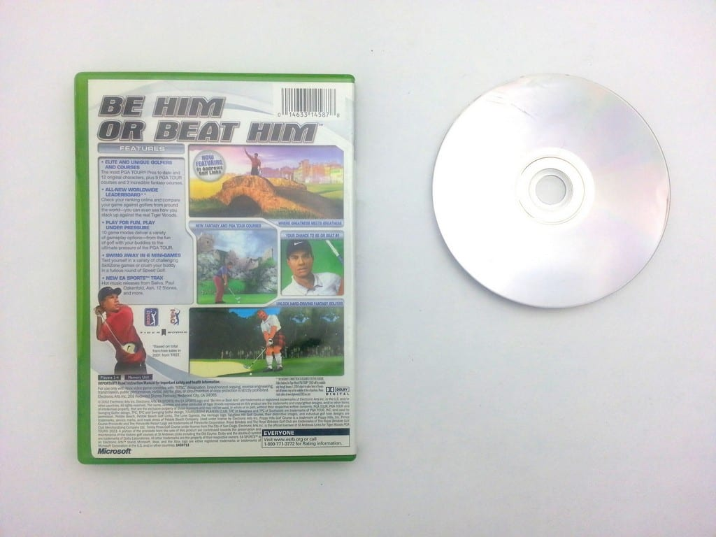 Tiger Woods 2003 game for Xbox | The Game Guy