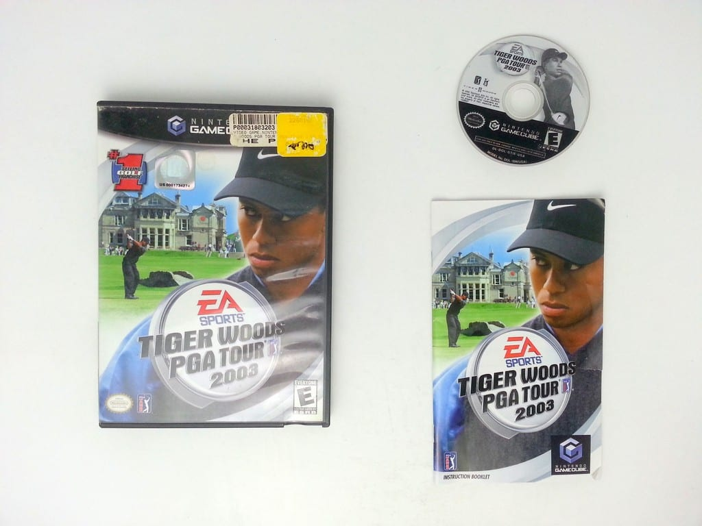 Tiger Woods 2003 game for Nintendo Gamecube -Complete