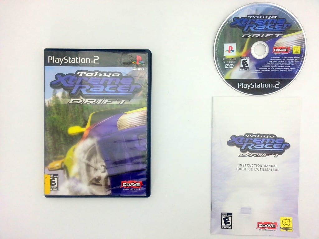 Tokyo Xtreme Racer Drift game for Sony Playstation 2 PS2 -Complete
