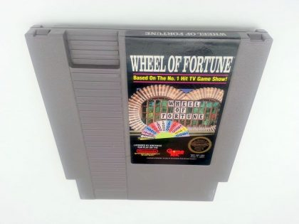 Wheel of Fortune game for Nintendo NES - Loose