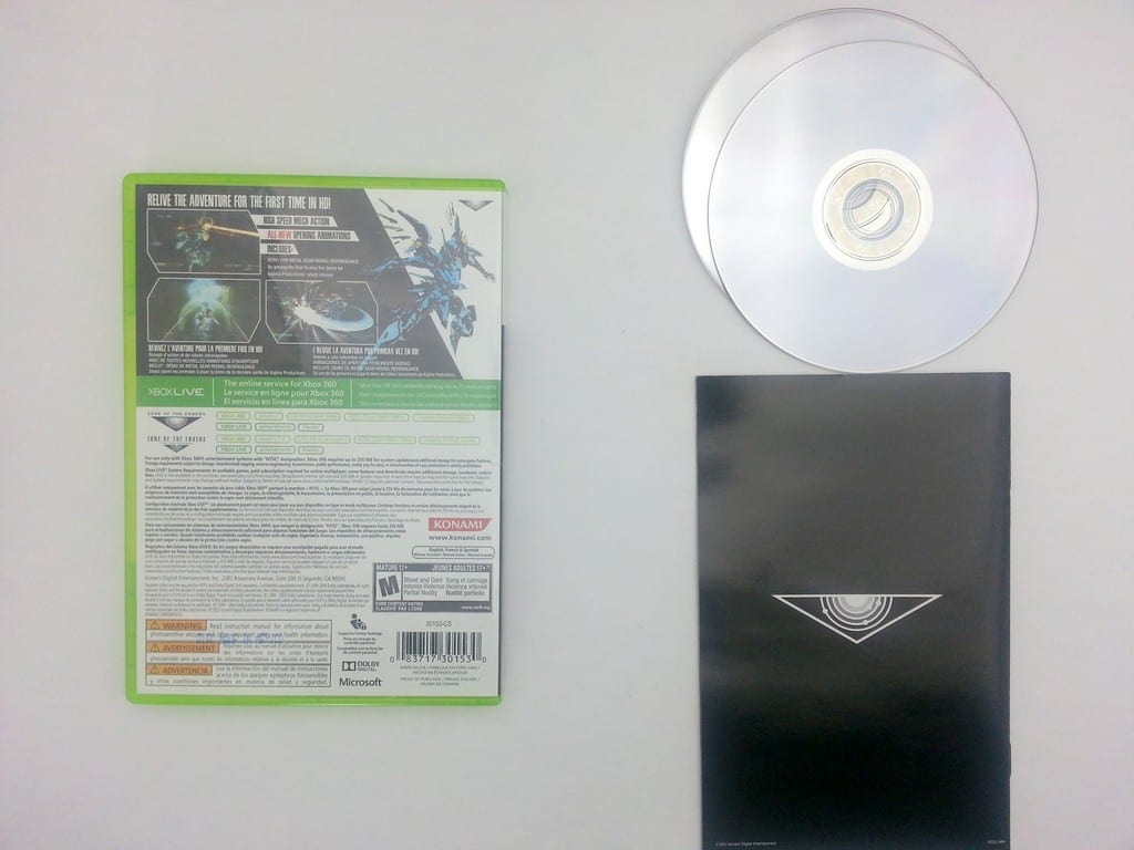 Zone of the Enders HD Collection game for Xbox 360 (Complete) | The Game Guy
