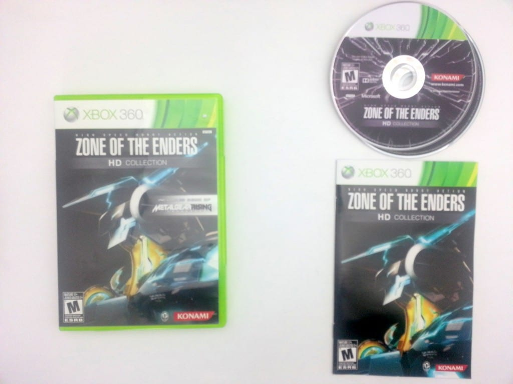 Zone of the Enders HD Collection game for Microsoft Xbox 360 -Complete