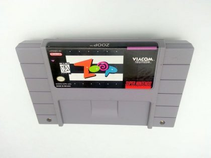 Zoop game for Super Nintendo SNES - Loose