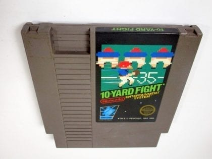 10-Yard Fight game for Nintendo NES - Loose