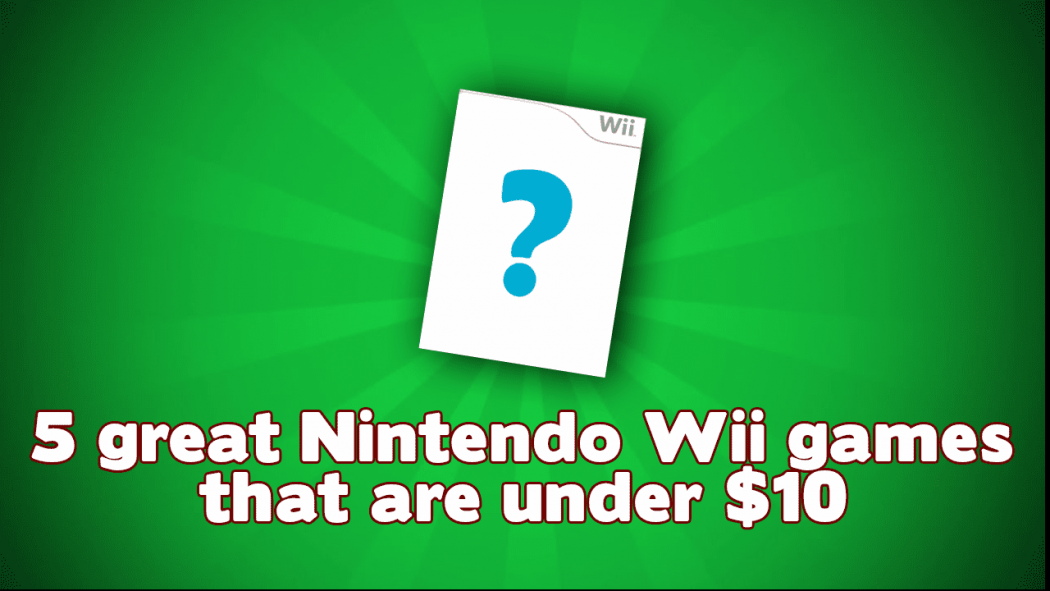 Cheap Nintendo Wii Games