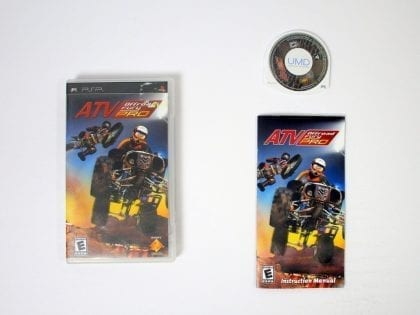 ATV Offroad Fury Pro game for Sony PSP -Complete