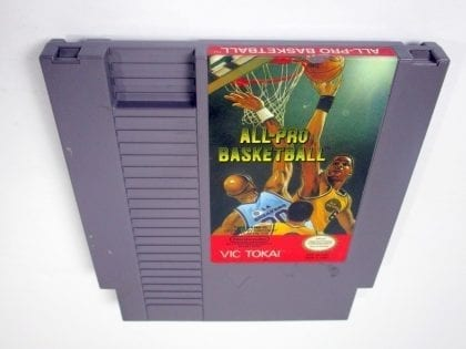All-Pro Basketball game for Nintendo NES - Loose