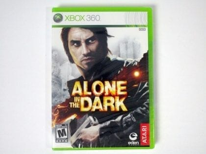 Alone in the Dark game for Microsoft Xbox 360 - New