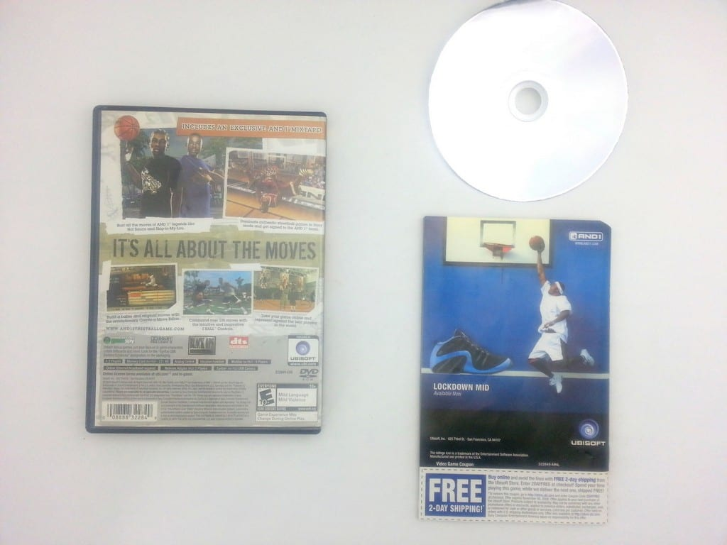 And 1 Streetball game for Playstation 2 (Complete) | The Game Guy