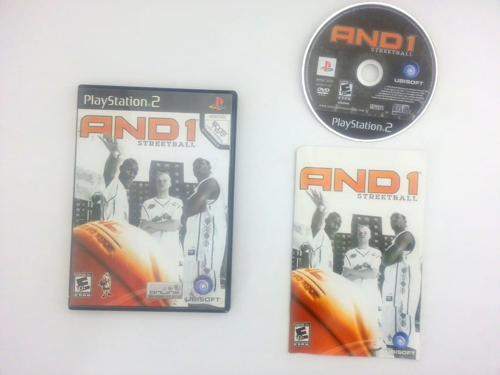 And 1 Streetball game for Sony Playstation 2 PS2 -Complete