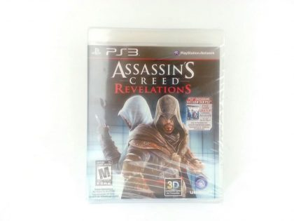 Assassins Creed Revelations game for Sony Playstation 3 PS3 - New