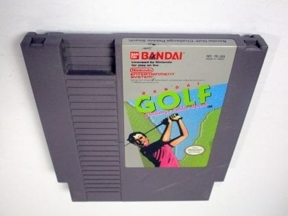 Bandai Golf Challenge Pebble Beach game for Nintendo NES - Loose
